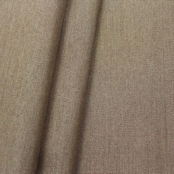 Indoor Outdoorstoff Braun Grau meliert