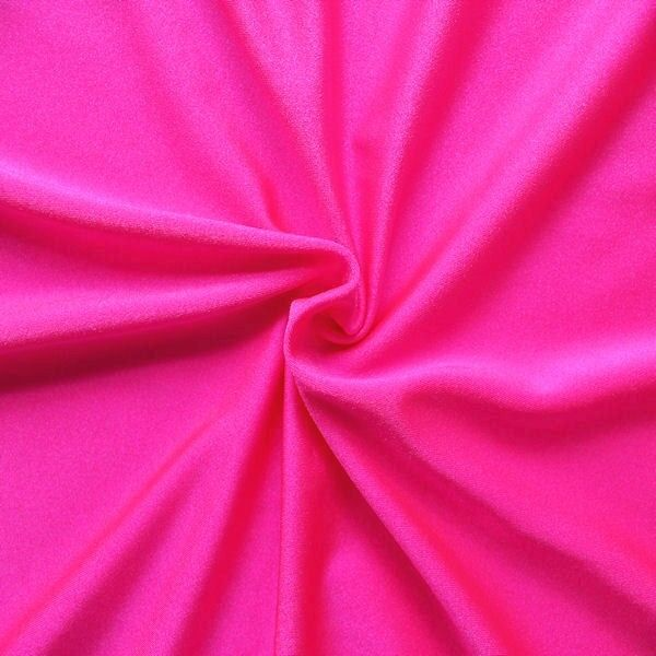 Bi-Stretch Jersey Badeanzug Stoff Pink