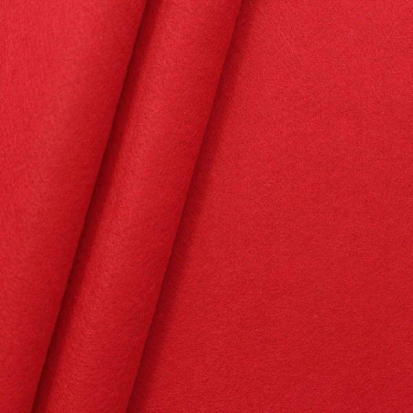 Dekorations Bastel Filz Breite 180 cm Farbe Rot