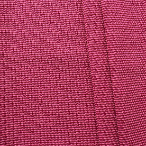 Baumwoll Bündchenstoff Ringel Mini glatt Fuchsia-Pink