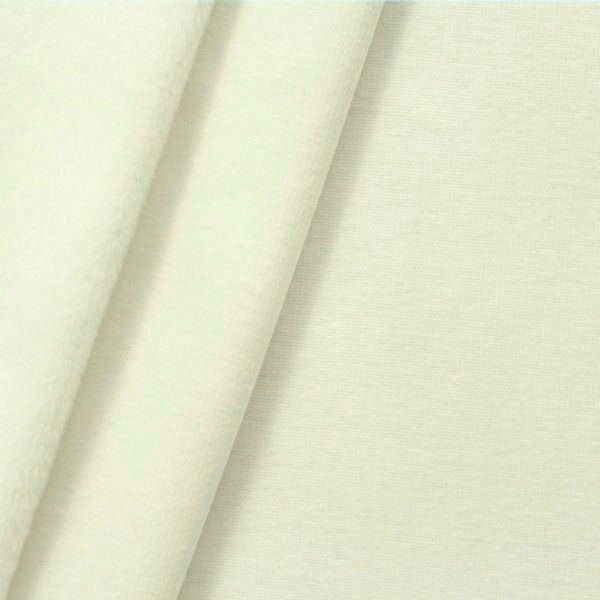 Alpenfleece Sweatshirt 2 Farbe Creme-Weiss