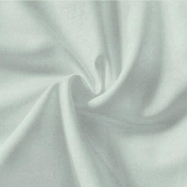 100% Baumwolle Fahnentuch Farbe Hell-Grau
