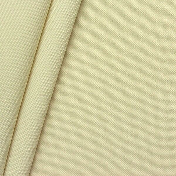 Oxford Polyester Gewebe 600D Farbe Creme Weiss