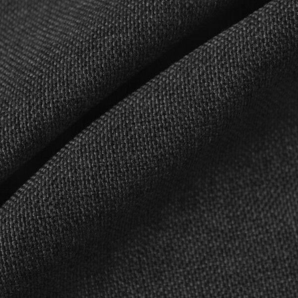 Polster- Möbelstoff Anthrazit-Schwarz meliert