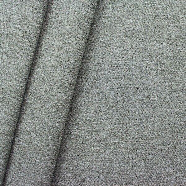 Polster-/ Möbelstoff Artikel Durban Schurwoll-Optik Farbe Grau melange