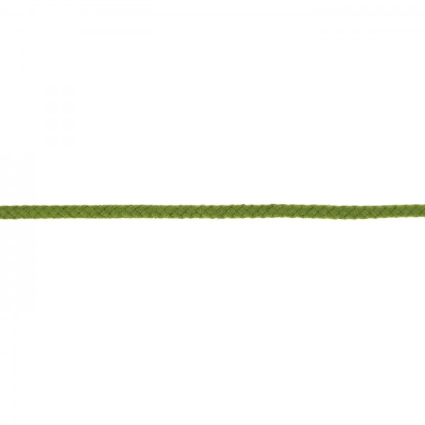 Baumwollkordel 8mm Moos-Grün