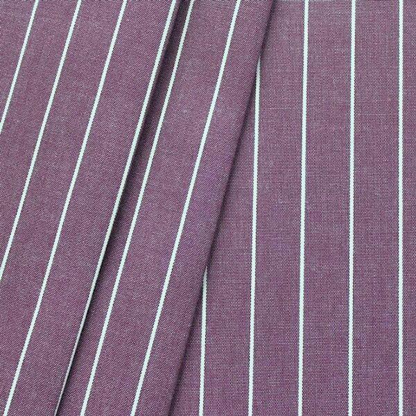 """Deko / Outdoorstoff """"Streifen fein"""" Farbe Violett melange"""