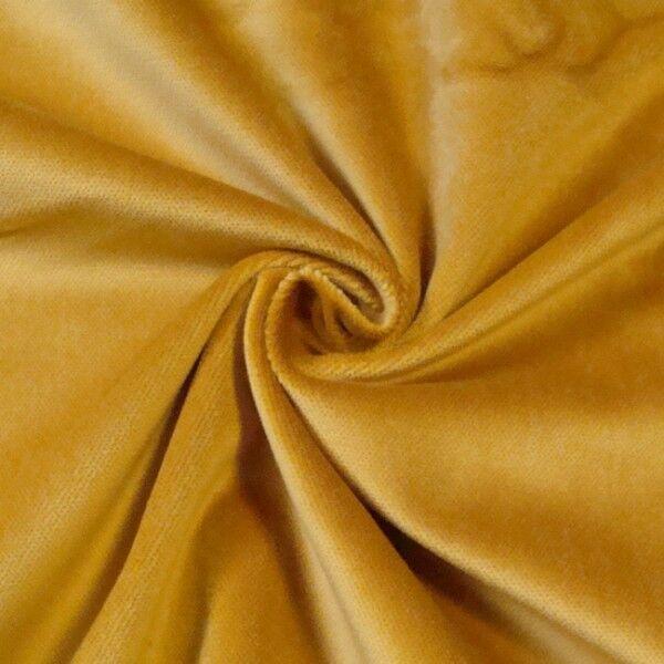 Bühnen Samt B1 schwer entflammbar Artikel Constantin Farbe Gold-Gelb