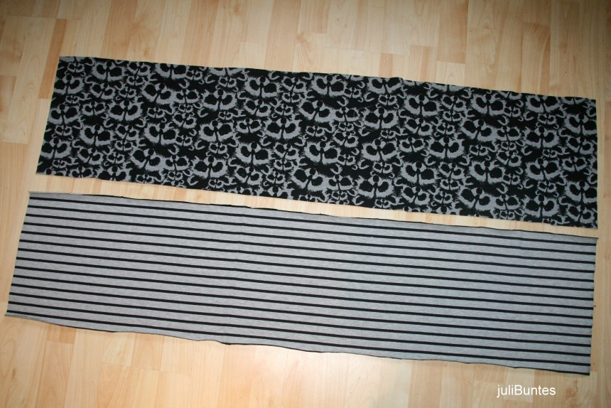 Stoffe fuer den einfachen Schal