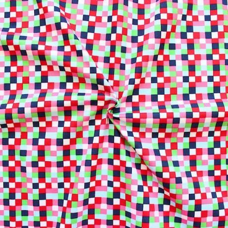 Baumwolle Popeline Druck Multicolor
