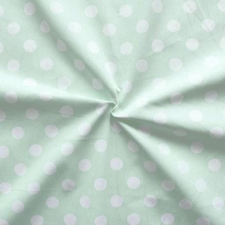 Baumwolle Köper Fashion Dots Pistazie