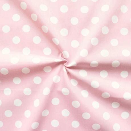 Baumwolle Köper Fashion Dots Rosa
