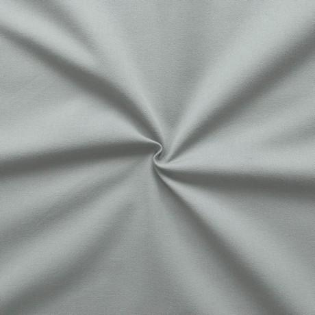 100% Baumwolle Köper mittelschwere Qualität Staub-Grau