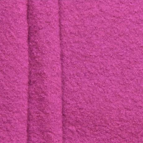 100% Wolle Walkloden Purpur-Violett