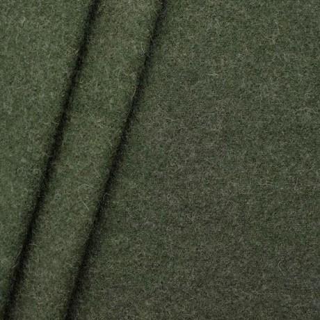 100% Wolle Walkloden Jäger-Grün