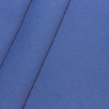 Deko Molton B1 schwer entflammbar Blau