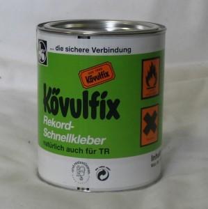 Kövulfix Universal Leder, Stoff und Gummikleber 600gr Dose