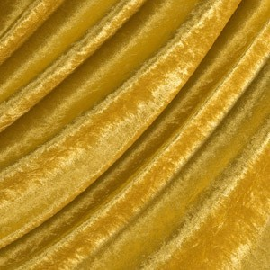 Pannesamt Gold-Gelb
