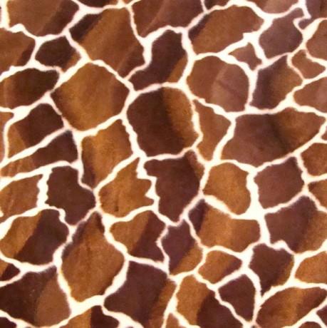 Giraffe Tierfellimitat