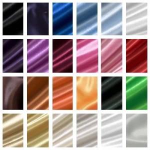 Musterkarte DIN A4 - Polyester Satin