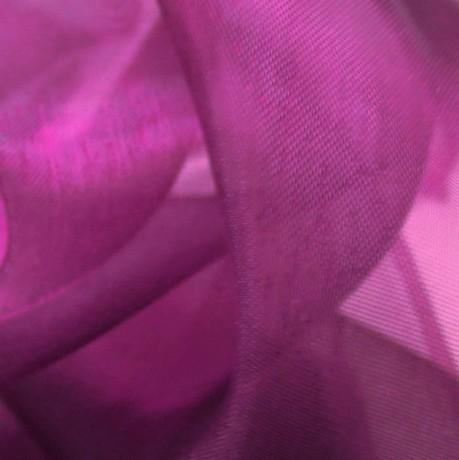 Organza einfarbig Farbe Flieder