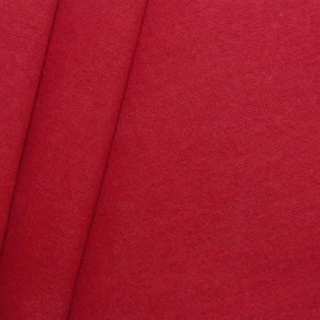 Deko Molton B1 schwer entflammbar Rot