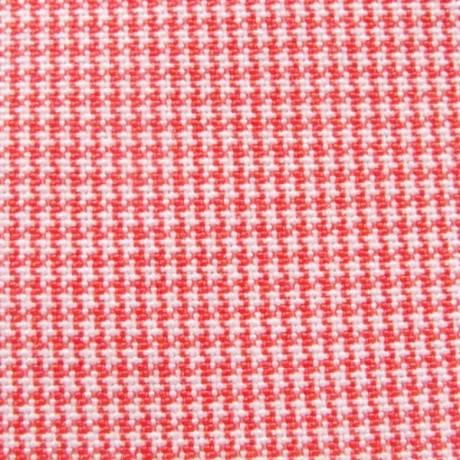 Modestoff Dekostoff Hahnentritt Rot-Weiss