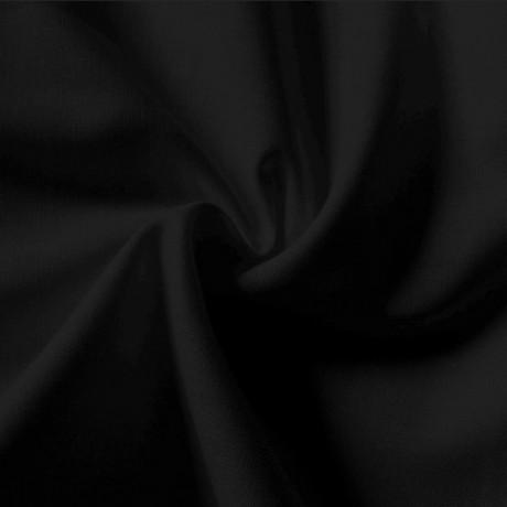 Baumwolle Fahnentuch Schwarz