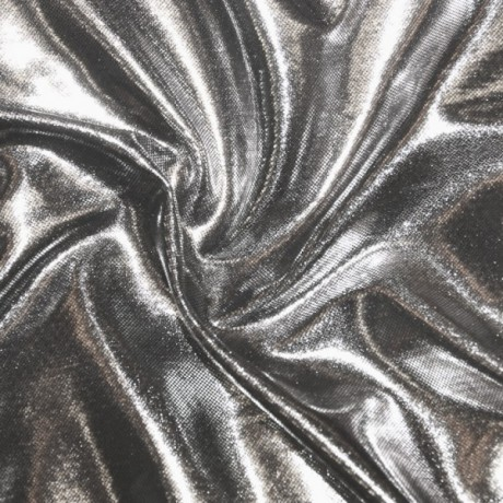 Glanz Jersey Silber