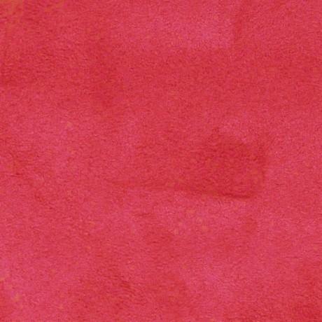 Microfaser Polster- Möbelstoff Rot
