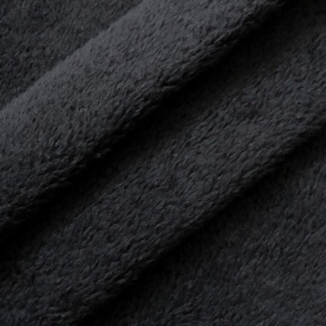 Wellness Fleece Schwarz