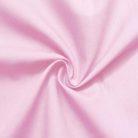 Baumwolle Polyester wie Batist Hell-Rosa