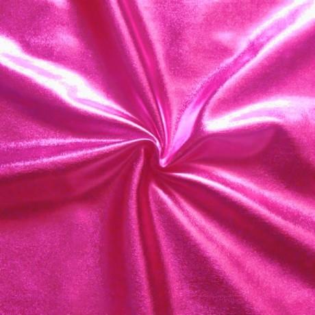 Stretch Folienjersey Pink