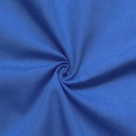 Baumwolle wie Batist Royal-Blau