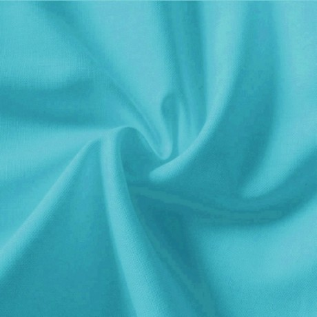 Baumwolle Fahnentuch Farbe Azur-Blau