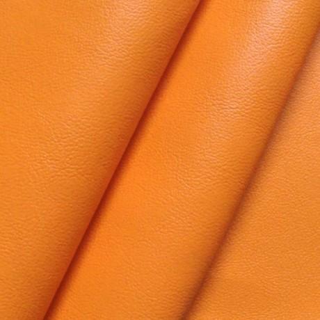 Nappaleder Orange