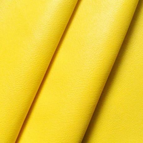 Nappaleder Gelb