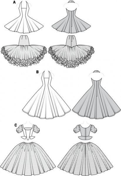 Schnittmuster fur abendkleider kostenlos – Beliebte Kleidermodelle 2018