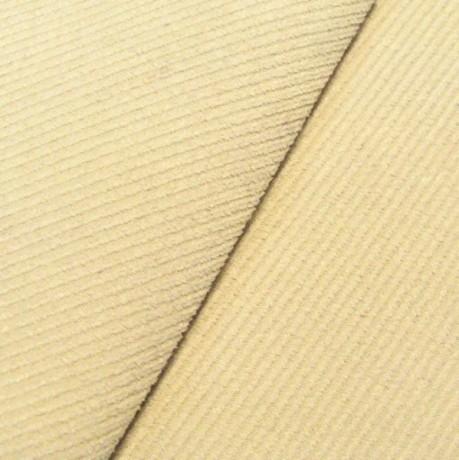 Polster- Möbelstoff Köper Woll-Weiss