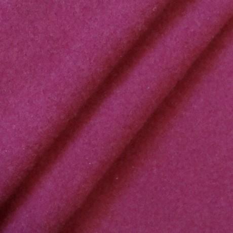 Mantel Flausch Purpur-Violett