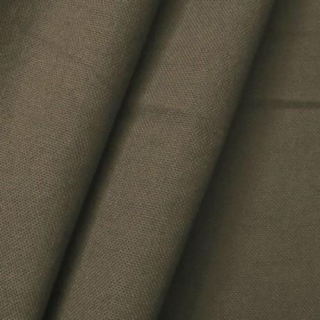 Baumwolle Canvas Schlamm