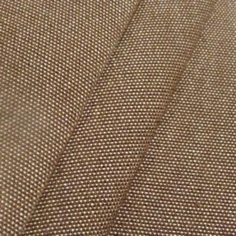 Markisenstoff Outdoorstoff Braun melange