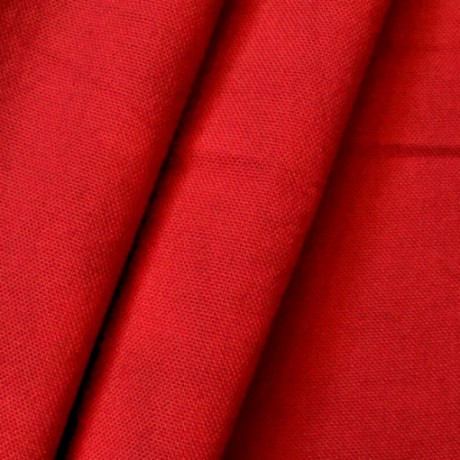 Baumwolle Canvas Rot