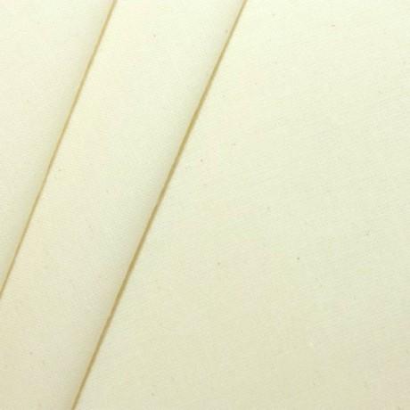 Baumwolle-Leinen Creme-Weiss