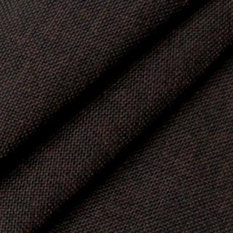 Polster- Möbelstoff Dunkel-Braun meliert