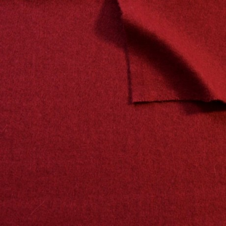 Wollfilz Dunkel-Rot