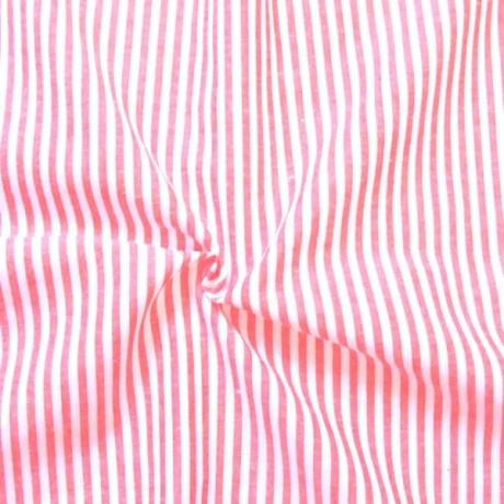 Baumwolle Streifen Violett-Weiss