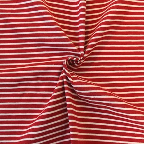 Ringel Jersey Rot-Weiss