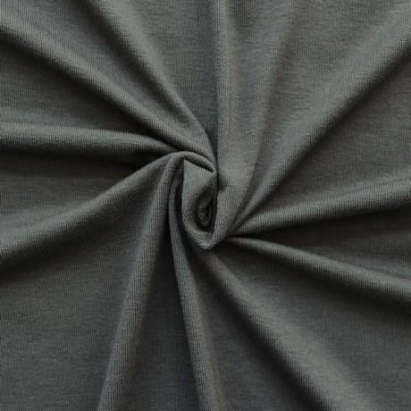 Viskose Stretch Jersey Grau