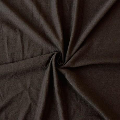 Viskose Stretch Jersey Braun